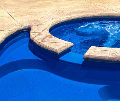 Imagine Pools Ocean Blue Swimming Pool Color Detail