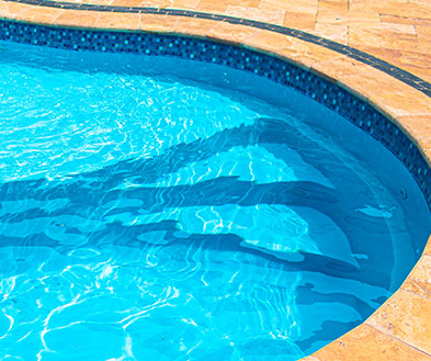 Imagine Pools Reef Blue Swimming Pool Color Detail