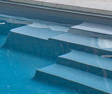 Imagine Pools Storm Grey Swimming Pool Color Detail