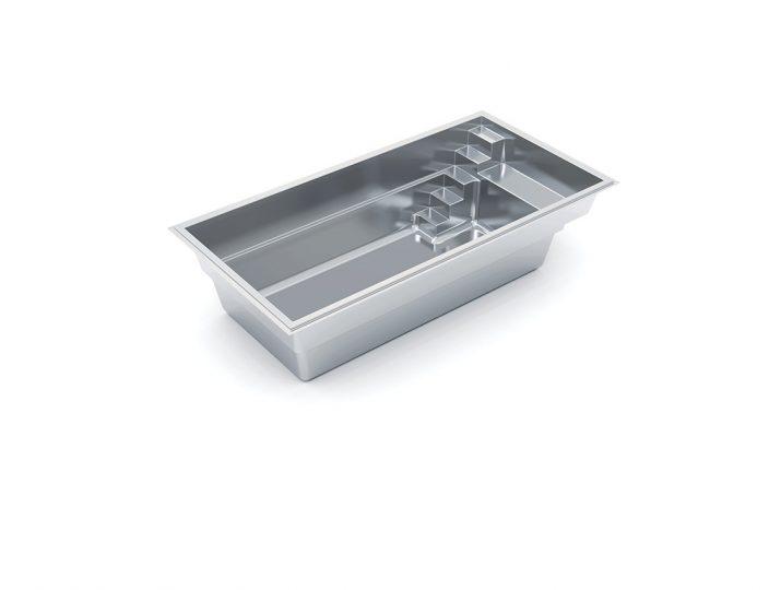 Imagine Pools Vision fiberglass swimming pool 3d drawing
