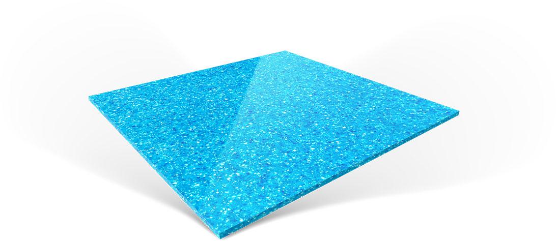 Imagine Pools Fiberglass Swimming Pool Color Reef Blue